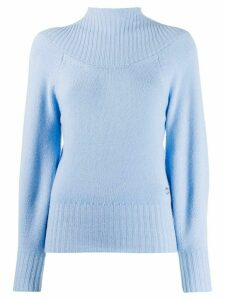 Emilio Pucci cashmere turtle neck sweater - Blue