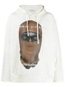 Ih Nom Uh Nit Kanye hoodie - White