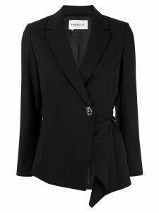PortsPURE asymmetric blazer - Black
