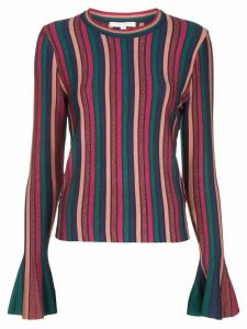 Jonathan Simkhai bell sleeve striped sweater - Multicolour