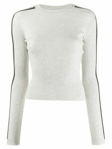 Fiorucci logo long-sleeve sweater - Grey
