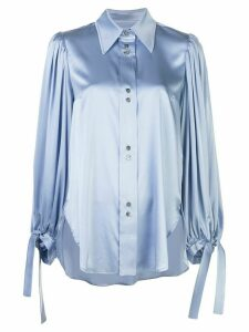 Ellery Monpi balloon-sleeve shirt - Blue