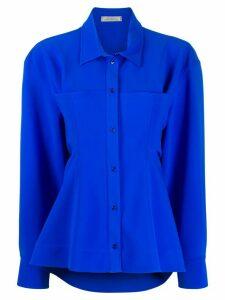 Nina Ricci oversized shirt jacket - Blue