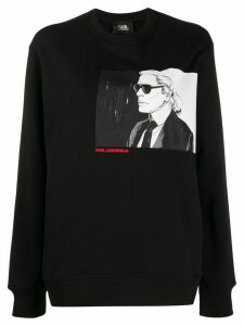 Karl Lagerfeld Karl Legend crew-neck sweatshirt - Black