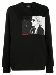 Karl Lagerfeld Karl Legend crew-neck sweatshirt - Black