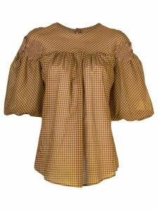 Silvia Tcherassi Danina blouse - Brown