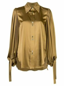 Ellery Monpi ballon-sleeve shirt - GOLD