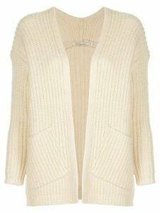 Mes Demoiselles Wolinski ribbed-knit cardigan - White