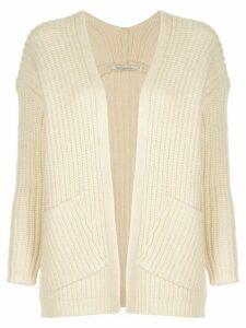 Mes Demoiselles Wolinski ribbed-knit cardigan - White