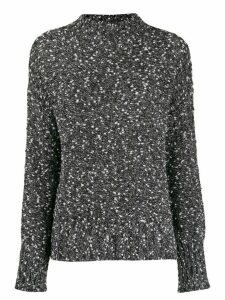 Snobby Sheep plain knitted jumper - Black