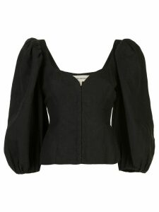 Mara Hoffman Eliana balloon sleeves blouse - Black