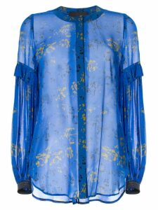 Ginger & Smart Aquiver printed blouse - Blue