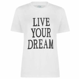 Alberta Ferretti Live Your Dream T Shirt