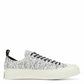Unisex Fleece-Lined Leather Chuck 70 Low Top