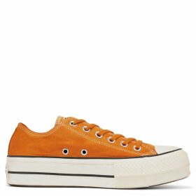 Women's Italian Crafted Dye Chuck Taylor All Star Platform Low Top