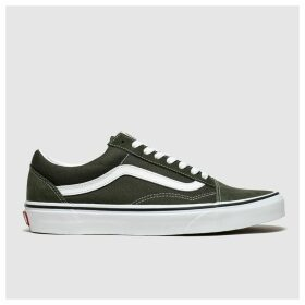 Vans Dark Green Old Skool Trainers
