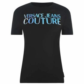 Versace Jeans Couture Mirror Logo T Shirt