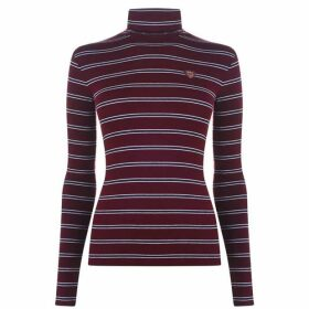 Polo Ralph Lauren Stripe Polo Neck Jumper