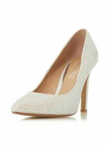 Womens *Head Over Heels By Dune White 'Alexxa' High Heel Shoes, White