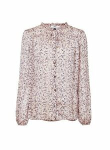 Womens **Tall Blush Floral Shirt- Pink, Pink