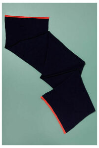 Lambswool and Cashmere Scarf - Blue