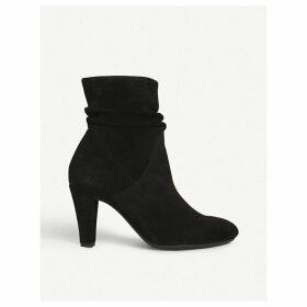 Carvela suede heeled boots