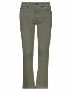 AVANTGAR DENIM by EUROPEAN CULTURE TROUSERS Casual trousers Women on YOOX.COM