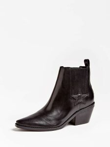 Guess Nea Real Leather Low Boot