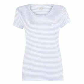 Jack Wills Womens Fullford Striped T-Shirt