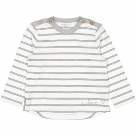 Polarn O Pyret Babies Love Embroidered T-Shirt