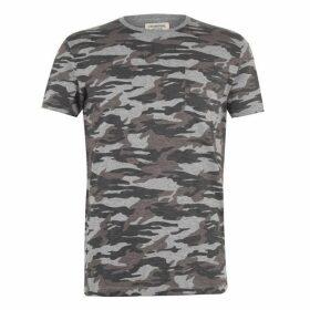 Criminal Camo All Over Print T-Shirt