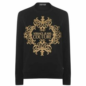 Versace Jeans Couture Baroque Logo Sweatshirt
