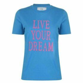 Alberta Ferretti Live Your Dream T Shirt