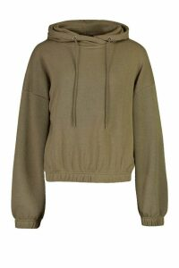 Womens Oversized Lounge Hoodie - green - 14, Green