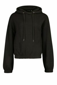 Womens Oversized Lounge Hoodie - Black - 16, Black