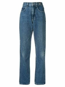 Versace Pre-Owned wide-leg jeans - Blue