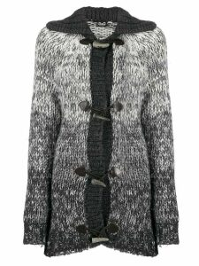 Dolce & Gabbana Pre-Owned 1990s knitted duffle cardigan - White