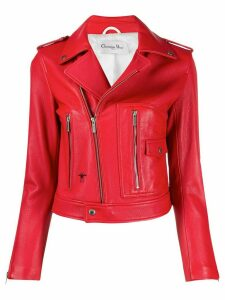 Christian Dior Pre-Owned 2010 Judgment biker jacket - Red