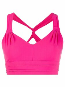 No Ka' Oi active crop top - PINK