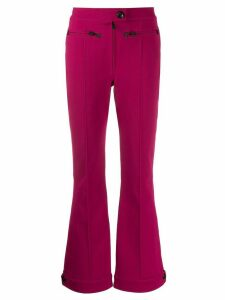Moncler Grenoble ski flared trousers - PINK