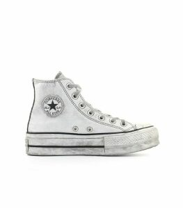 Converse White Smoked All Star Chuck Taylor Sneaker