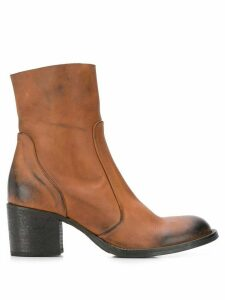 Strategia Olivia ankle boots - Brown