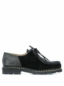 YMC lace-up boat shoes - Black
