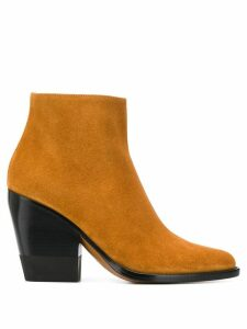 Chloé 95mm ankle boots - Brown