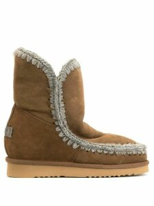 Mou Inner Wedge boots - Brown