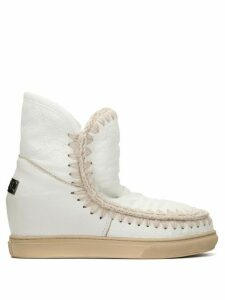 Mou Inner Wedge boots - White