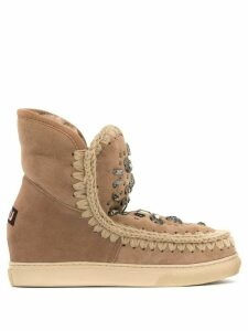 Mou inner wedge Eskimo boots - Brown