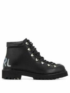 Karl Lagerfeld Kombat II ankle boots - Black