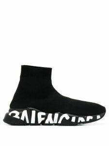 Balenciaga Speed stretch-knit sneakers - Black