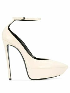 Saint Laurent Betty D'Orsay pumps - Neutrals